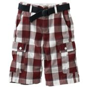 Urban Pipeline Plaid Cargo Shorts - Boys 8-20