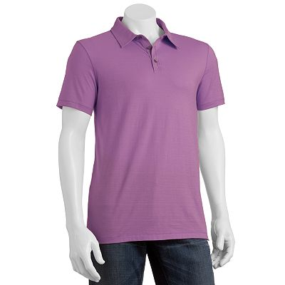 Marc Anthony Slim-Fit Textured Polo
