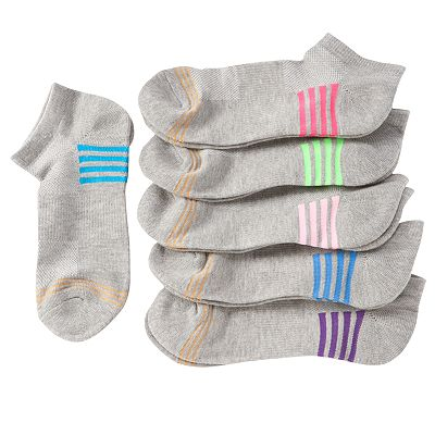GOLDTOE 6-pk. No-Show Socks - Girls