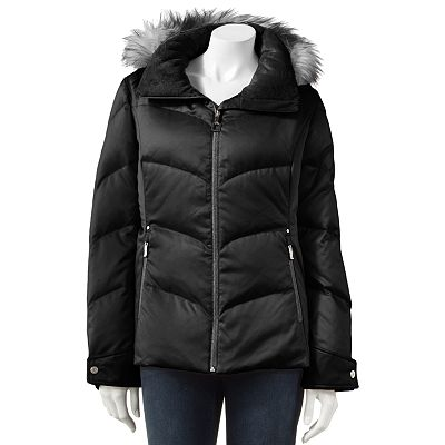 ZeroXposur Hooded Down Puffer Jacket