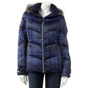 ZeroXposur Plaid Down Puffer Jacket