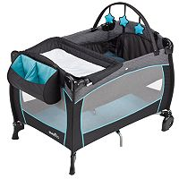 Evenflo Portable BabySuite 300 Play Yard - Koi
