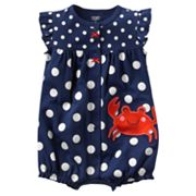 Carter's Crab Polka-Dot Creeper - Baby