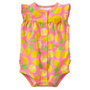 Carter's Lemon Bodysuit - Baby