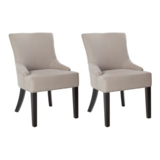 Safavieh 2-pc. Lotus Nailhead Side Chair Set
