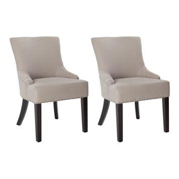 Safavieh 2-pc. Lotus Nailhead Side Chair Set