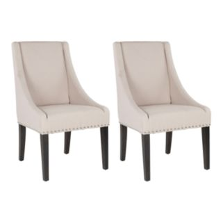 Safavieh 2-pc. Britannia Side Chair Set