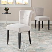 Safavieh 2 pc Sinclaire Cotton Blend Side Chair Set