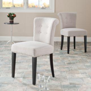 Safavieh 2-pc. Sinclaire Cotton Blend Side Chair Set