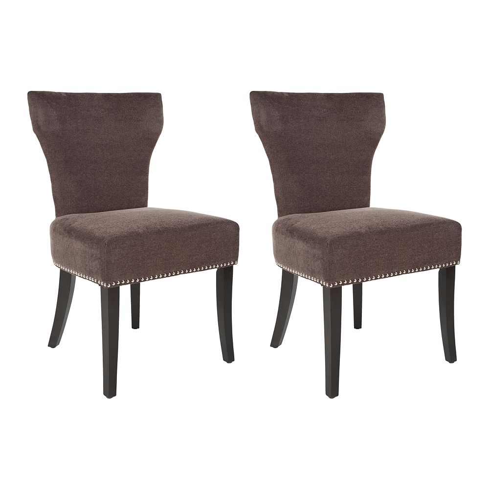 Safavieh 2-pc. Jappic Brown Side Chair Set