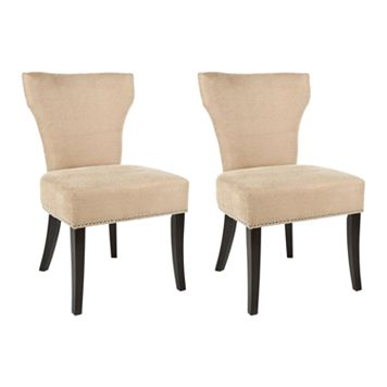 Safavieh 2-pc. Jappic Wheat Side Chair Set