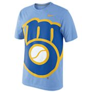 Nike Milwaukee Brewers Heather Tee - Men