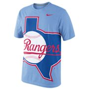 Nike Texas Rangers Heather Tee - Men
