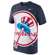 Nike New York Yankees Heather Tee - Men