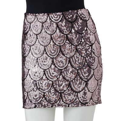 Lily Rose Sequin Skirt - Juniors