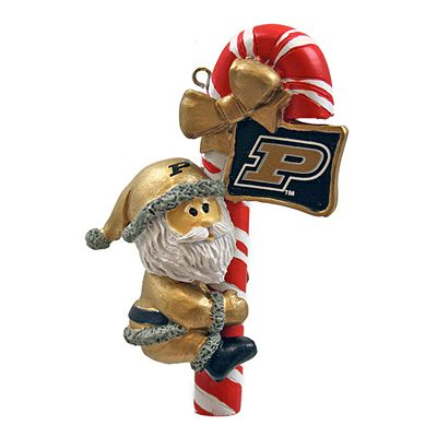 Purdue Boilermakers Candy Cane Ornament