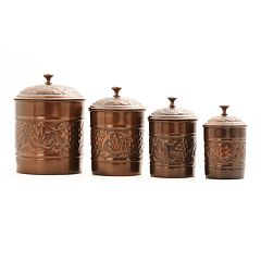 Old Dutch Heritage 4 pc Kitchen Canister Set