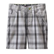 Tony Hawk Fundrum Plaid Shorts - Toddler
