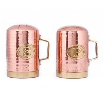 Old Dutch Hammered Copper Salt & Pepper Shaker Set