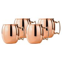 Old Dutch Copper 4 pc Moscow Mule Mug Set