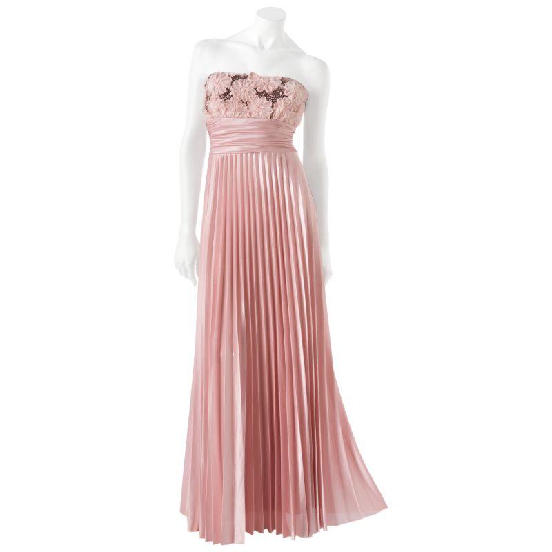... strapless prom dresses speechless floral sequin strapless long dress