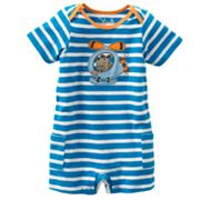 Jumping Beans Striped Helicopter Dog Romper - Baby