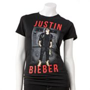 Justin Bieber Graphic Tee - Juniors