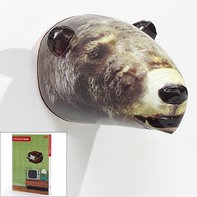Inflatable Bear Head