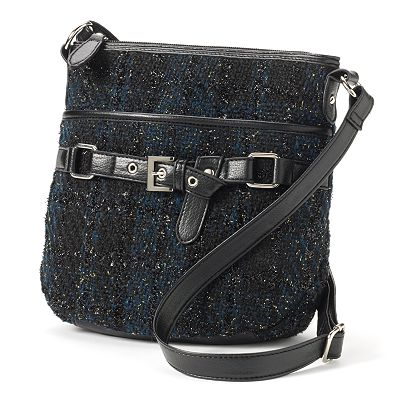 Croft and Barrow Loop Belted Cross-Body Bag