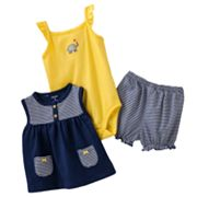 Carter's Elephant Bodysuit Set - Baby