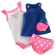 Carter's Whale Top Set - Baby
