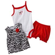 Carter's Zebra Dress Set - Baby