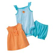 Carter's Polka-Dot Ruffled Dress Set - Baby
