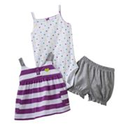 Carter's Striped Heart Dress Set - Baby