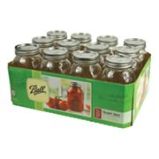 Fox Run 32-oz. Regular Mouth Mason Jars - 12-pk.
