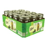 Ball 32-oz. Wide Mouth Mason Jars - 12-pk.