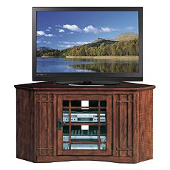 Leick Furniture Mission Corner TV Stand