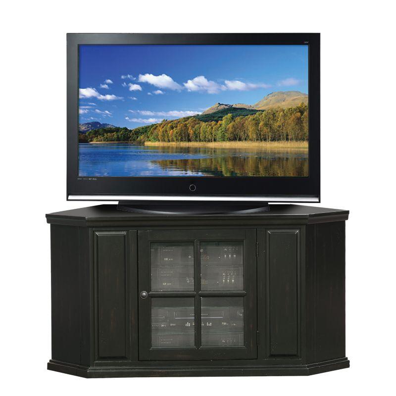 Leick Furniture Corner TV Stand, Black