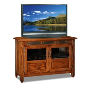 Leick Furniture Oak TV Stand