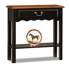 Leick Furniture Two-Tone Table