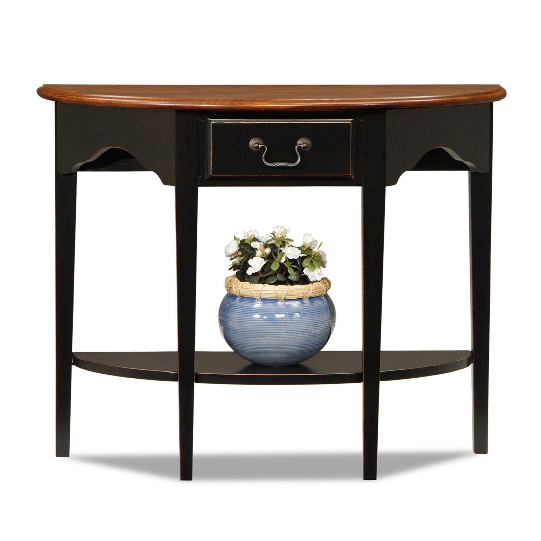 leick furniture demilune table - Leick Furniture