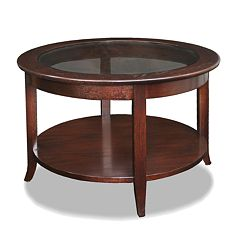 Leick Furniture Chocolate Bronze-Tone Coffee Table
