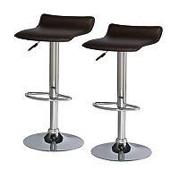 Leick Furniture 2-pc. Adjustable Swivel Stool Set