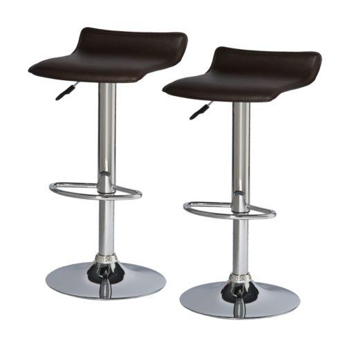 Leick Furniture 2-pc. Adjustable Swivel Stool Set