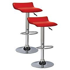 Leick Furniture 2 pc Adjustable Swivel Stool Set