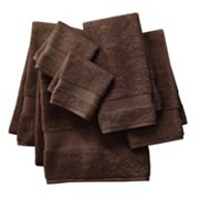 Apt. 9 Highly Absorbent 6-pc. Solid Bath Towel Set