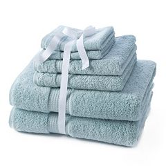 Apt. 9 Highly Absorbent 6-pc. Solid Bath Towel Value Pack  by