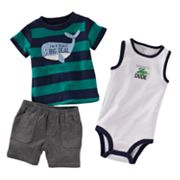 Carter's Whale Bodysuit Set - Baby