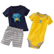 Carter's Monster Bodysuit Set - Baby