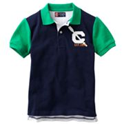 Chaps Colorblock Polo - Boys 4-7